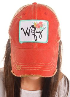Wifey Hat (red) – DejaVu
