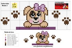 Broderie Simple, Plastic Canvas, Perler Beads, Animal Crossing, Cross Stitch Patterns, Teddy Bear, Comics, Crochet, Fictional Characters