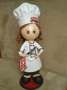 fofucha chef, cocinera