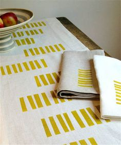SouthStreetLinen: Lynn block prints