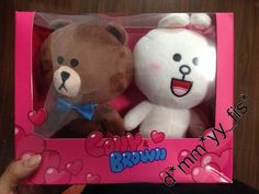 Line Cony & Brown