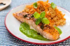 Fitness recepty s vysokým obsahom bielkovín Tofu, Quinoa, Pesto, Smoothie, Food And Drink, Lunch, Vegan, Ethnic Recipes, Recipes For Pregnant Women