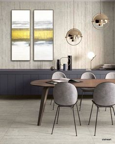 Get inspired by these dining room decor ideas! From dining room furniture ideas, dining room lighting inspirations and the best dining room decor inspirations, you'll find everything here! Dining Room Lighting, Dining Room Sets, Dining Room Furniture, Dining Room Table, Dining Chairs, Room Chairs, Dining Room Modern, Furniture Makers, Plywood Furniture