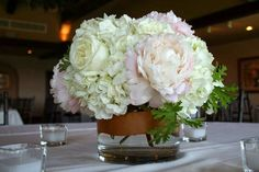Image result for hydrangea wedding centrepieces