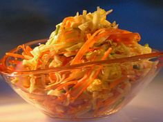 Jicama Slaw Recipe : Guy Fieri : Food Network - FoodNetwork.com omit oil, sugar and sub in apple cider vinegar and stevia omit carrots for p2 add in thinly sliced red peppers