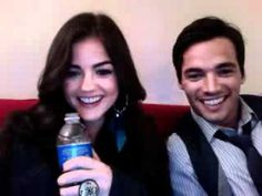 lucy hale and ian harding - Google Search
