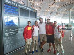 El equipo español ya está en #Pekín2015. Recordamos que el Mundial arranca este sábado.