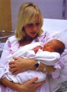 Agnetha with her son Christian