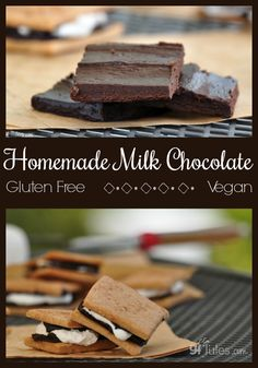This easy vegan milk chocolate recipe makes coconut milk chocolate with the cocoa you probably already have in your cupboard!