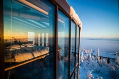 This Ski Resort Suite In Finland Is Absolutely Insane. The ultimate winter stay,