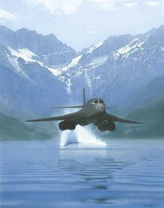 Bomber Jet Plane one of the scariest things you can see in the sky. By Blaine Art Studio Military Jets, Military Aircraft, Fighter Aircraft, Fighter Jets, Jet Plane, Nose Art, Aviation Art, Air Force, Airplanes
