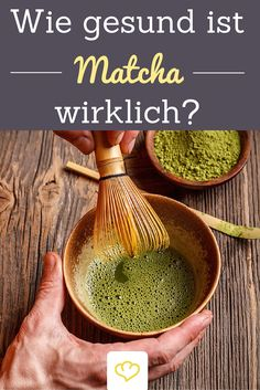 Matcha soll wahre Wunder bewirken! Aber wie gesund ist das giftgrüne Getränk, das aus grünen Teeblättern hergestellt wird, wirklich?