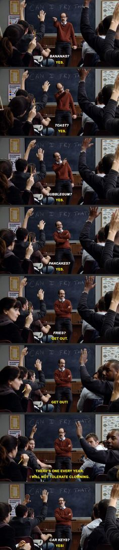My favorite class at Greendale Community College.