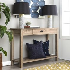 Jane.com - Walker Edison Furniture Company LLC Natural Entry Console Table / Free Shipping - AdoreWe.com