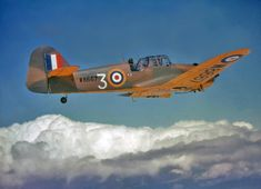 Miles M27 Master III (W8667) No 5SFTS - Royal Air Force - advanced trainer - World War 2