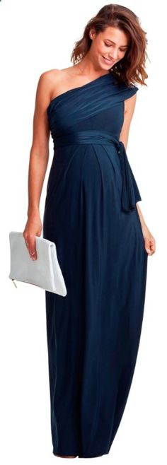 Beautiful Maternity Dress for Wedding Guest ♥ www.isabellaolive...