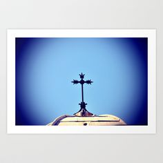 MARSEILLE Cathedral Art Print by WAMTEES - $17.68