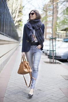 Lazos. Street style outfits. Looks de street style. Fashion Blogger.