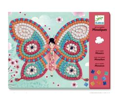 Djeco Colouring Surprise Lady Butterfly, a unique and beautiful colouring set with 4 pictures to colour. Available in store at Giddy Goat Toys, Didsbury, Manchester, or on our online store. Butterfly Mosaic, Butterfly Crafts, Mosaic Crafts, Mosaic Art, Small Gifts, Gifts For Kids, Mosaics For Kids, Goat Toys, Puzzles 3d