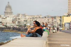 El Malecón- Such a romantic place to admire the beauty of Cuba.