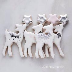 Star Fawn.....#sugarbombe, #sugarcookies, #decoratedcookies, #cookiesofinstagram, #edibleart,#sugarart, #royalicingart, #royalicingcookies, #customcookies, #foodart, #diycookies, #3dprintedcookiecutters, #customcookiecutters, #3dprintedcookiecutters, #customcookiecutters, #cookiecutters,#f52grams,#bakersofinstagram,#fawncookiecutter,#christmascookiecutter, #starcookiecutter