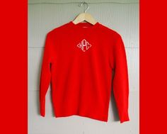 The Monogrammed Sweater...just in case you forgot who you were.