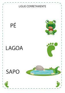 Notebook da Profª: Projeto O Sapo School Frame, Preschool Learning Activities, Teaching, Notebook, Children, Blog, Download, Camilla, Action