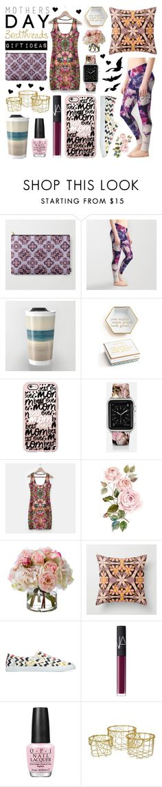 """Mothers Day /// Gift Ideas"" by levon-3redthreads on Polyvore featuring Polaroid, Casetify, Diane James, NARS Cosmetics, OPI and Three Hands"
