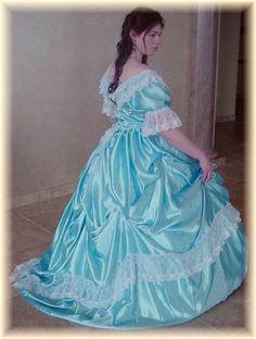 CUSTOM Victorian Bridal Civil War Steampunk Ball by MattiOnline