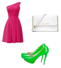 """AKA"" by keiabeia ❤ liked on Polyvore featuring Brian Atwood and MICHAEL Michael Kors"