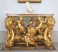 Console Table - Italy : Baroque - Musée Bode