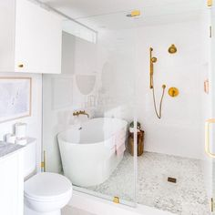 One Room Challenge Final Reveal: Our Master Suite Makeover ( video)! Dream Bathrooms, Beautiful Bathrooms, Small Bathroom, Master Bathrooms, Bathroom Ideas, Bathroom Mirrors, Wet Room Bathroom, Condo Bathroom, Modern Bathrooms