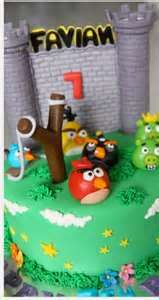 Angry Birds Birthday Cake And Cupcake Ideas