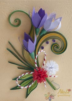 Neli is a talented quilling artist from Bulgaria. Her unique quilling cards bring joy to people around the world. Quilling Work, Neli Quilling, Quilling Cards, Paper Quilling, Quilling Ideas, Origami, Jewelry Patterns, As You Like, Paper Cutting