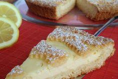 Crostata con crema di ricotta al limone – dessert
