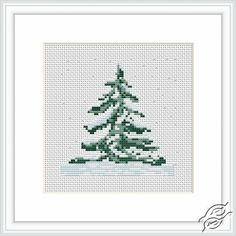 Fir-tree - Cross Stitch Kits by Luca-S - B012