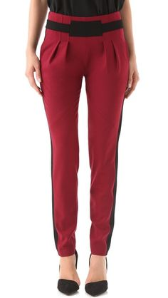 I have a thing for pleated trousers, okay? Rebecca Minkoff, Gavin Pleated Wool Pants, $348.