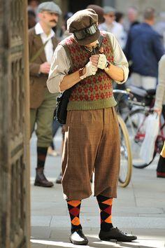 Lovely Ewan McGregor and tweed, London