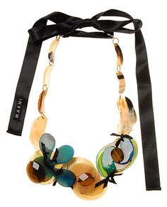 Marni necklace. So beautiful..