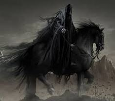 Another look at the possibility of the Grim Reaper being one of the four horsemen of the Apocalypse. From what I could tell it was one of the largest arguments of who the Grim Reaper is. Dark Fantasy Art, Fantasy Images, Grim Reaper Art, Don't Fear The Reaper, Tolkien, Art Sombre, Horsemen Of The Apocalypse, Bild Tattoos, Dark Lord