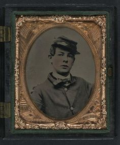 Drummer Louis D. B. Somerby of Company A, 48th Massachusetts Infantry Regiment and Company M, 2nd Massachusetts Heavy Artillery Regiment.
