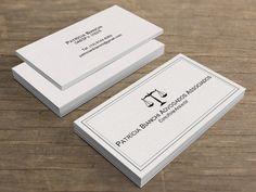 Cartão de Visita Advogados - Creatio Design