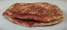 Simple healthy pancakes 2 Eggs 2 Tbs Psyllium husk 2 Tbs Plain Greek yoghurt 1 Tsp Baking powder
