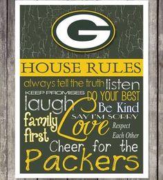 House Rules of a True Packer Fan!!!    <3