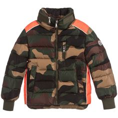 c0c235742d383 Boys BREMES Down Filled Jacket for Boy by Moncler. Discover the latest designer  Coats   Jackets for kids online