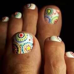 Top 30 Pedicure Nail Art Design That Are Easy - nail4art