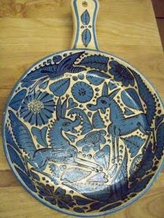 Fantasia is my favorite vintage Mexican pottery pattern.
