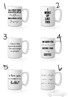 Check out my tutorial on how to make your own DIY Sharpie Mugs + get some ideas from the BEST Sharpie Mug Quotes!