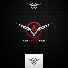 Air Force Fun  |  logo design  |  logobids.com V Letter Tattoo, Letter Logo, Graphic Design Print, Graphic Design Inspiration, Best Logo Design, Branding Design, Motocross Logo, Logo Psd, Logo Concept