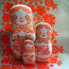 Matryoshka Flat Dolls!